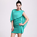 TS Contrast Color Shawl Dress (More Colors)