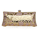 Silk With Gold Hardware Clutch/Evening/Novelty Bag (More Colors)