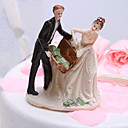 """Getting Rich"" Wedding Cake Topper"