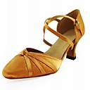 Customized Satin Cross Strap Latin/Ballroom Performance Shoes (More Colors)