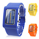 Men's and Women's Multifunction Silicone Digital LED Wrist Watch with Watch Case(Assorted Colors)