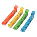 12cm Colorful Food Vacuum Seal Clips with Data Mark (4-Pack)