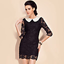 TS Pearl Embellished Lace Dress (More Colors)