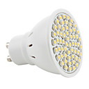 GU10 3528 SMD 60-LED 200Lm Warm White Light Bulb 230V