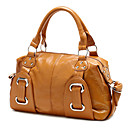 Hot Sale Women's PU Tote Bag With Buckles