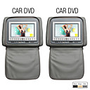 7 Inch Digital Screen Car Headrest DVD Player (800x480, Mirror Panel, Game)