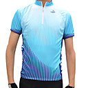 jaggad - mens  manches courtes maillot cycliste (vert / bleu)