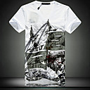 Mode-V-Neck T-Shirt Skinny