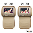 7 Inch Car Headrest DVD Player (USB/SD, Game, Protective Screen Cover)