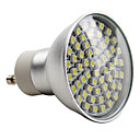 GU10 3528 SMD 60-LED White 150-180LM Light Bulb (230V, 3-3.5W)