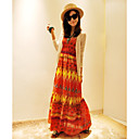 Bohemian Cotton Long Tube Dress