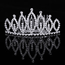Thriving Cubic Zirconia In Alloy Tiara