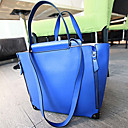 Stylish Ladies' PU Tote Bag