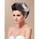 headpiece noiva moderna de casamento