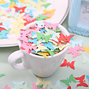 Little Buterfly Shaped Paper Confetti - Pack of 350 Pieces (Random Color)