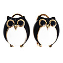 Owl Gilted Earrings (Assorted Colors)