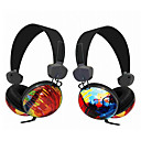 Kanen Graffiti Stereo PC Headphone Headset (Desktop Microphone Included)