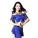 Dancewear Viscose/Tulle Belly Dance Top For Ladies More Colors