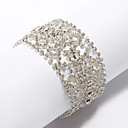 Gorgeous Ladies' Mosaic Rhinestone Bracelet