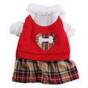 Scottish Plaid Dancing Dress for Dogs (XS-XL)