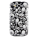 skull Pattern Hard Case for Samsung Galaxy S3 I9300 (Multi-Color)