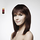 Capless Long 100% Human Hair Brown Straight Hair Wig 5 Colors To Choose