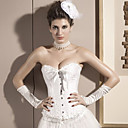Satin Strapless Front Busk Closure Corsets Special Occasion Shapewear More Colors Available