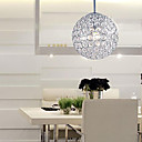 60W Comtemporary Pendant Light with 1 Light in Honeycomb Design