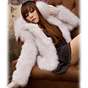 Antique Long Sleeve Evening/ Career Faux Fur Jacket (More Colors)