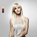Capless Long Straight High Quality Synthetic Hair Wig Multiple Colors Available