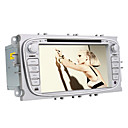 7 polegadas Car DVD Player com interface 3D para Ford Focus / Mondeo (GPS, 800x480, Bluetooth, DVB-T, RDS, PIP, CAN-BUS)
