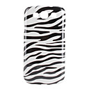 Zebra Stripe Design Hard Case for Samsung Galaxy S3 I9300 (Multi-Color)