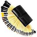 40 Pcs Professional Wool Makeup Brush Set(Two colors may be random)