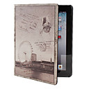 Estilo Retro PU Funda de cuero con soporte para el nuevo iPad y iPad 2