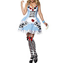 Sexy Fancy Blue dress Halloween Costume Cinderella Maid (2Stück)