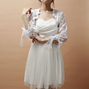 Gorgeous 3/4-Length Sleeve Lace Special Occasion Jacket/Wedding Wrap(More Colors)