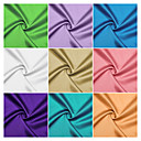 100% Polyester Woven Solid Satin By The Yard (Many Colors)