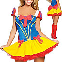 Sexy Womens Deluxe Snow White Princess Fancy Dress Halloween Costume