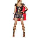 Greek Warrior Princess Dress Up Halloween Sexy Halloween Costume Adulto (3pezzi)