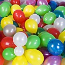 Solid Color Round Ballon - Set of 100(Mixed Color)