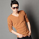 slim v-neck cotton t-shirt