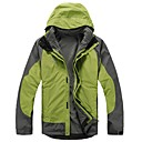 Snowlife 100% Polyester and 100% Nylong Long-Sleeve Men's Two-Piece Rain Jacket Suit