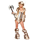 Sexy Soldier Fur Halloween Costume(5 Pieces)