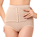Chinlon High Waist Front Busk Closure Shaper Brief Daily/Special Occasion Wear Shapewear