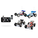 Scala 1:43 2.4Ghz iPhone / Android di controllo Hi-Speed ​​Off-Road Truggy RC