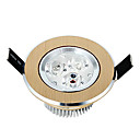 3W LED plafond licht met 3LEDs en Gele Cirkel in Round Feature