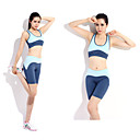 SiBoEn moda feminina Estilos Yoga roupas de fitness Workout se adapte s 2 conjuntos (Vest Yoga sexy + Yoga Pants Drawstring)