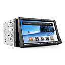 android 7 Zoll 2DIN Car DVD-Player mit kapazitivem Touchscreen, GPS, TV, WiFi, 3G