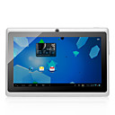 "7 ""pantalla táctil capacitiva Android 4.0 Tablet w / Camera / G-Sensor / WiFi - Negro (A13 1 GHz / 4 GB)"