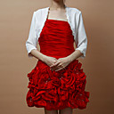 3/4-length Sleeves Chiffon With Lace Special Occasion Jacket/ Wedding Wrap (More Colors)